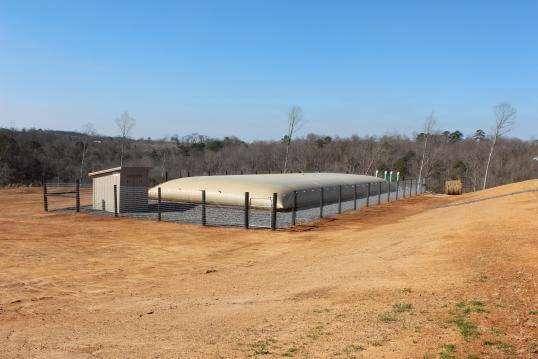 Rainwater Bladder Tank